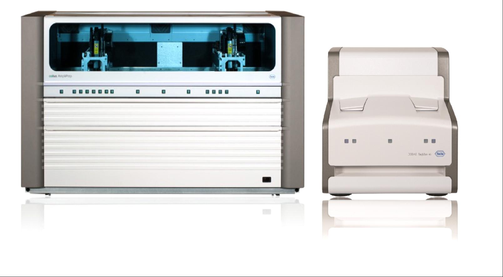 Автоматическая ПЦР система в реальном времени COBAS TaqMan 48 со станцией для пробоподготовки образцов COBAS Ampliprep
